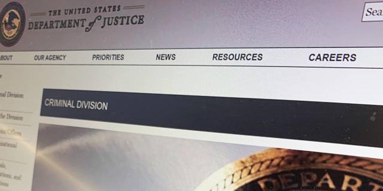 DOJ Website
